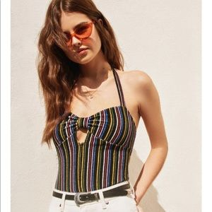 Out From Under Tamara Striped Bodysuit